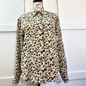 vintage 1980 silk ALLISO TAYLOR BLOUSE